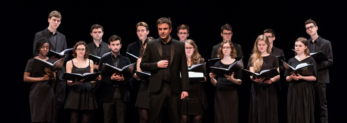 Keble College Choir of the University of Oxford Presented Music Concert at CUHK